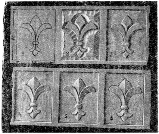 Схема выполнения орнамента